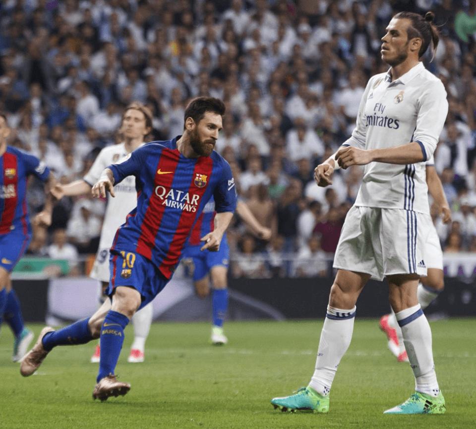 Real Madrid 2-3 Barcelona (Casemiro 28′ e James 86′  Messi 33′ e 92′ e  Rakitic 73′) 1f3223295fba8