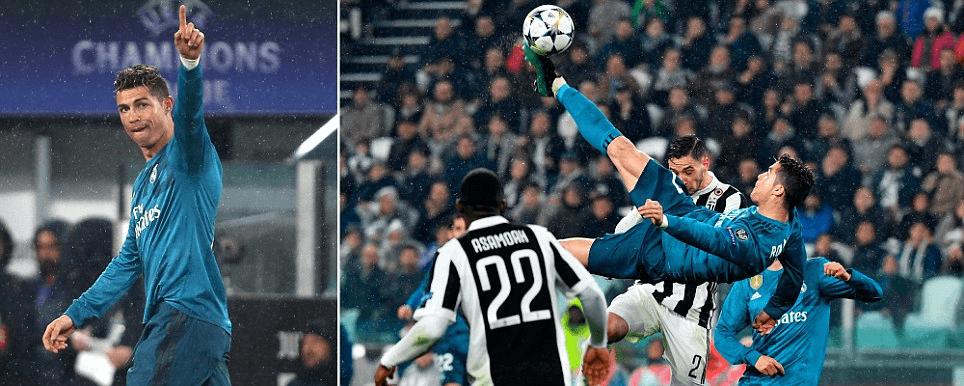 Estratosférico Ronaldo deixa Turim a seus pés  Português bisou ... 747298a4ce6f5
