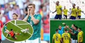 c7a96d46e890d Escândalo Mundial! Alemanha eliminada na fase de grupos