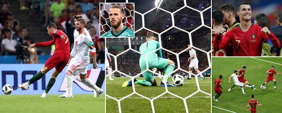 Incrível Ronaldo dá show frente à Espanha 1e65a54ef28a4