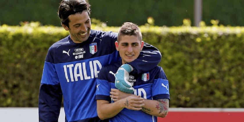 O único jogador italiano acima da média para Buffon c817a86897e7a