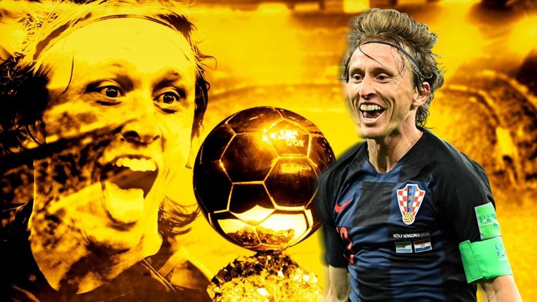 Luka Modrić conquista Bola de Ouro b4cbf2948fd2d